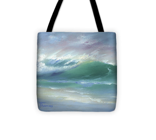 Soft Palette Knife Wave - Tote Bag