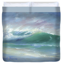 Load image into Gallery viewer, Soft Palette Knife Wave - Duvet Cover