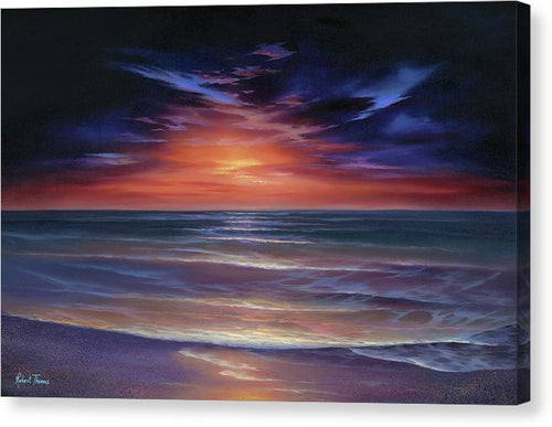 Sunset Purple Haze - Canvas Print