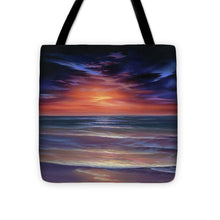 Load image into Gallery viewer, Sunset Purple Haze - Tote Bag