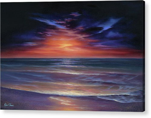 Sunset Purple Haze - Acrylic Print