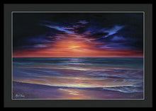Load image into Gallery viewer, Sunset Purple Haze - Framed Print