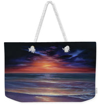 Load image into Gallery viewer, Sunset Purple Haze - Weekender Tote Bag