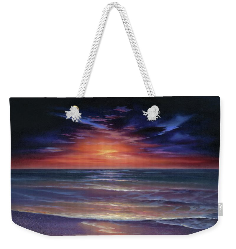 Sunset Purple Haze - Weekender Tote Bag
