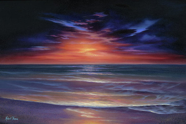 Sunset Purple Haze - Art Print