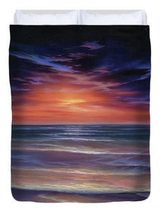 Sunset Purple Haze - Duvet Cover