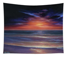 Load image into Gallery viewer, Sunset Purple Haze - Tapestry