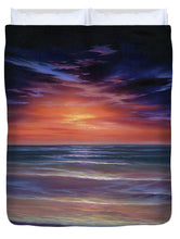 Load image into Gallery viewer, Sunset Purple Haze - Duvet Cover