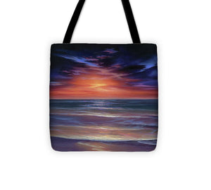 Sunset Purple Haze - Tote Bag
