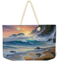 Load image into Gallery viewer, Turtle Beach - Weekender Tote Bag