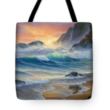 Load image into Gallery viewer, Turtle Beach - Tote Bag