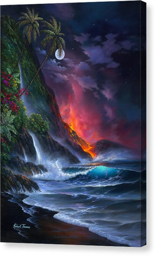 Volcano Passion - Canvas Print