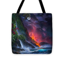 Load image into Gallery viewer, Volcano Passion - Tote Bag
