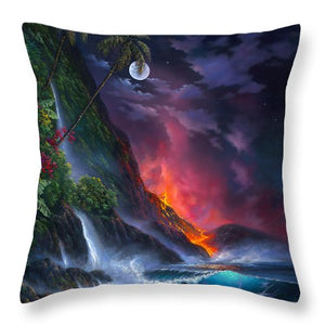 Volcano Passion - Throw Pillow