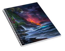 Load image into Gallery viewer, Volcano Passion - Spiral Notebook