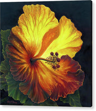 Load image into Gallery viewer, Yellow Hibiscus - Acrylic Print