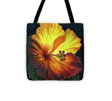 Load image into Gallery viewer, Yellow Hibiscus - Tote Bag