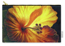 Load image into Gallery viewer, Yellow Hibiscus - Carry-All Pouch