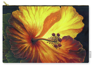 Yellow Hibiscus - Carry-All Pouch