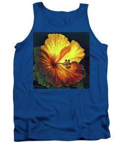 Yellow Hibiscus - Tank Top