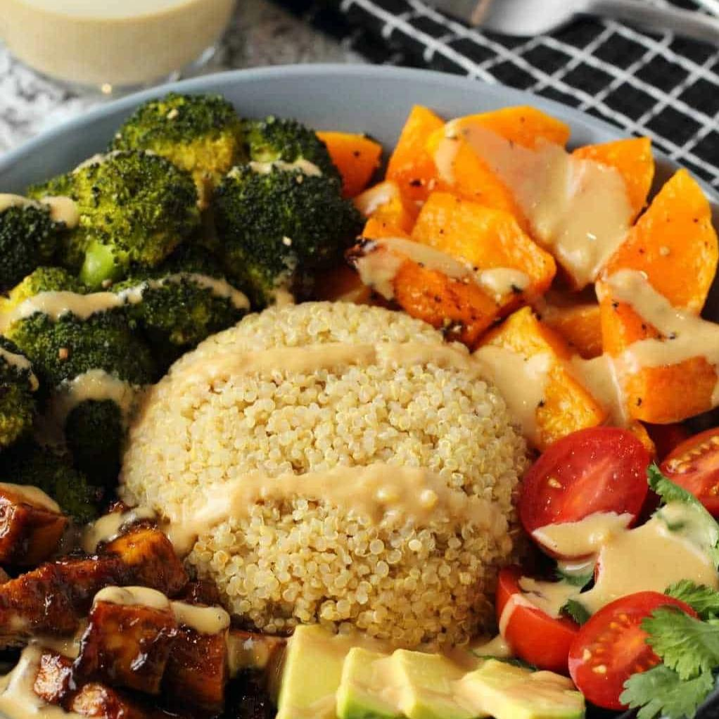 Buddha Bowl with Roasted Vegetables