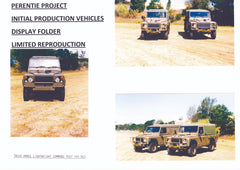Perentie Project, Initial Production Vehicles Display Reproduction