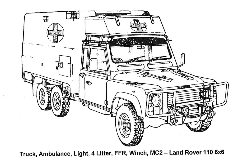 Perentie Landrover 6x6 Visual Inspection Guide