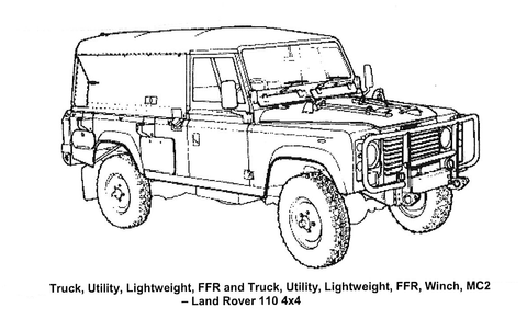 'Perentie'  Landrover 4x4 Visual Inspection Guide