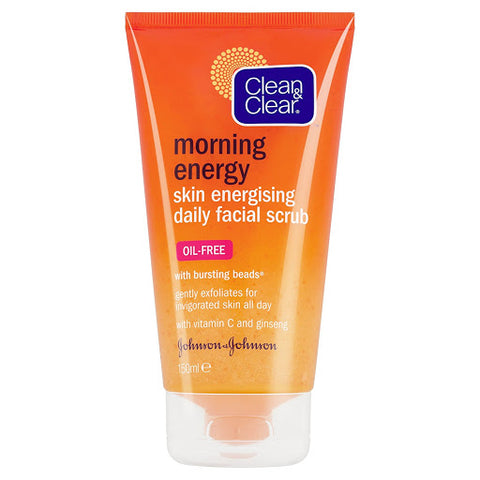 Clean & Clear Skin Energizing Daily Face Scrub
