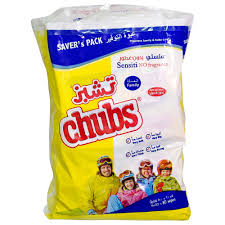 Chubs Family Wipes 2x40's Sensitive