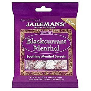 Jakemans Lozenges Blackcurrant Menthol