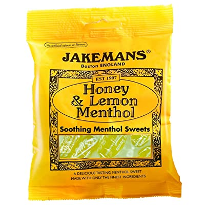 Jakemans Lozenges Honey & Lemon Menthol