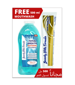 Beverly Toothpaste & Mouthwash offer