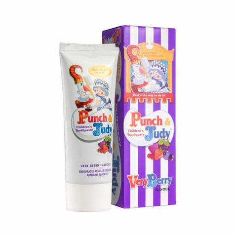 Punch & Judy Kids Toothpaste- Berry