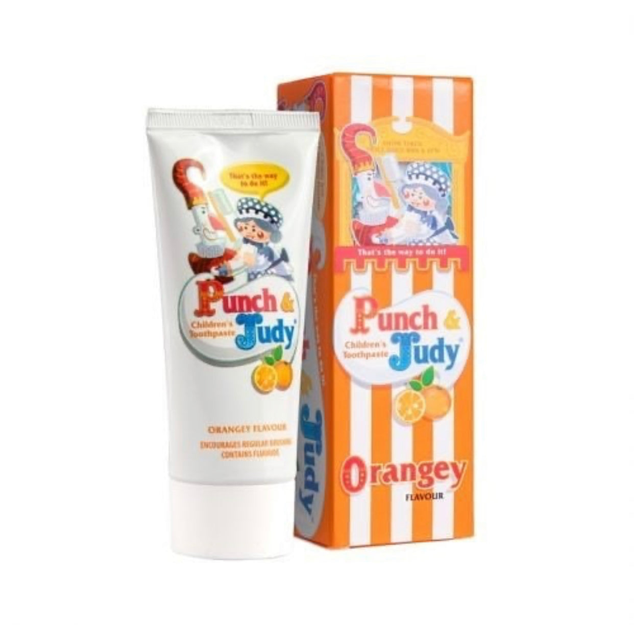Punch & Judy Kids Toothpaste- Orange