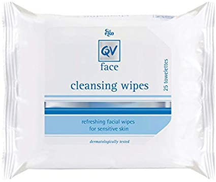 QV Face Cleansing Wipes 25's