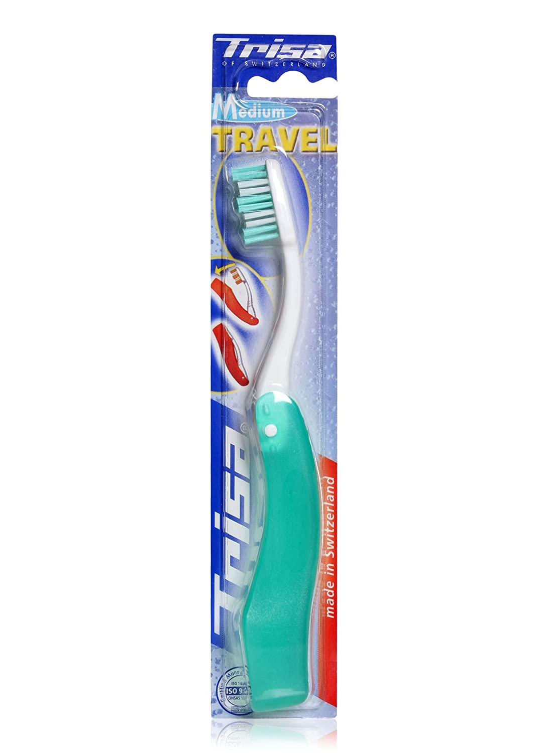 Trisa Toothbrush- Travel (Medium)