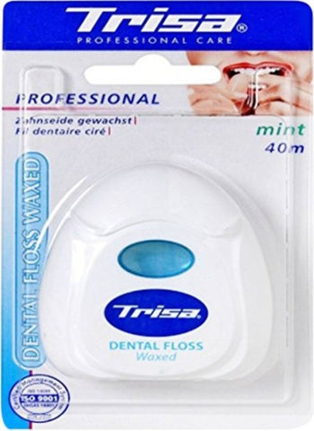 Trisa Floss Mint Waxed 40M