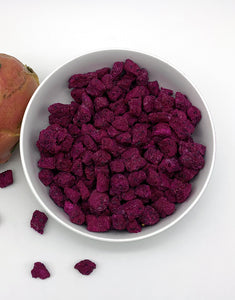 freeze dried red dragon fruit