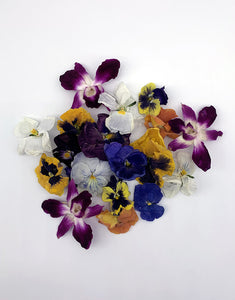 Freeze-Dried Edible Flowers