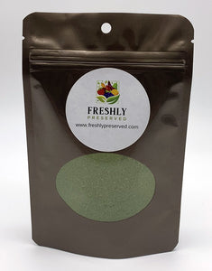 freeze dried kale powder