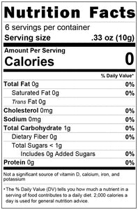 freeze dried pink grapefruit 2oz nutrition facts
