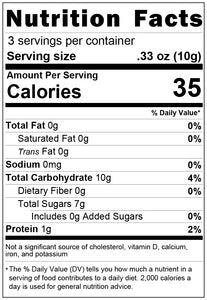 freeze dried watermelon 1oz nutrition facts