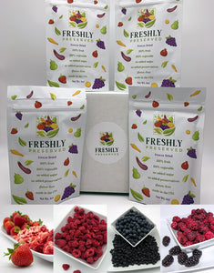 """Very Berry"" Freeze-Dried Fruit Box (3 Month Prepay)"