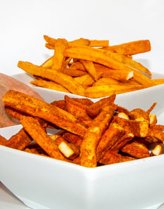 freeze dried cinnamon sweet potatoes