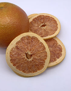 freeze dried pink grapefruit