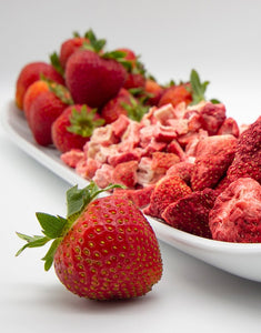 freeze dried strawberries Texas