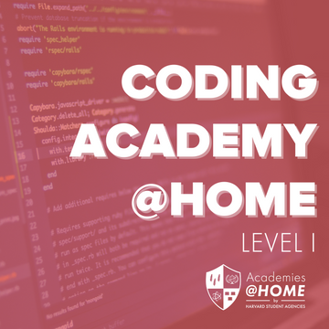 Summer Coding Level I Academy @HOME