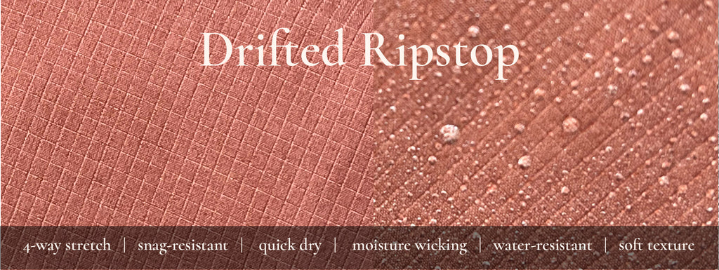 drifted ripstop fabric