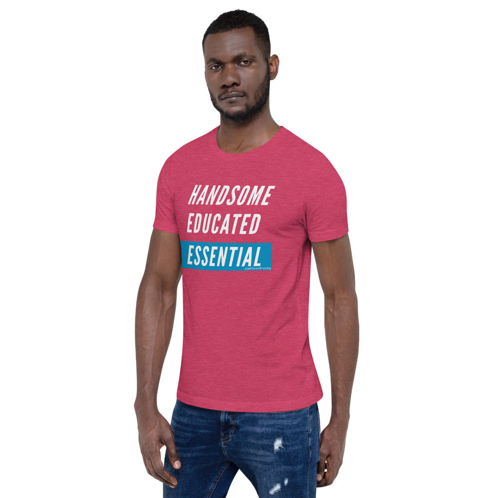 Handsome Educated Essential Short-Sleeve Unisex T-Shirt